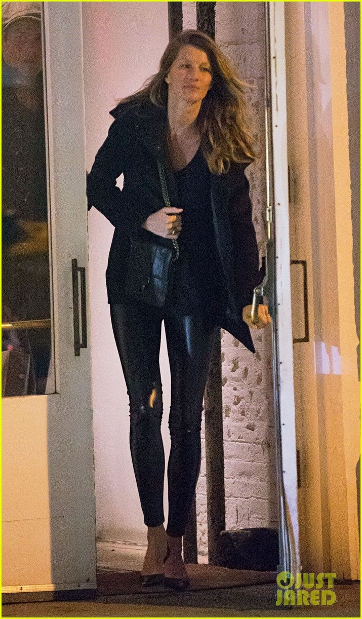 I'm always amazed at how unretouched photos of Gisele Bundchen just make her look like the girl next door. Except for the leather pants, of course. Come to think of it, my neighbor does wear leather pants, but they don't look as good on him.