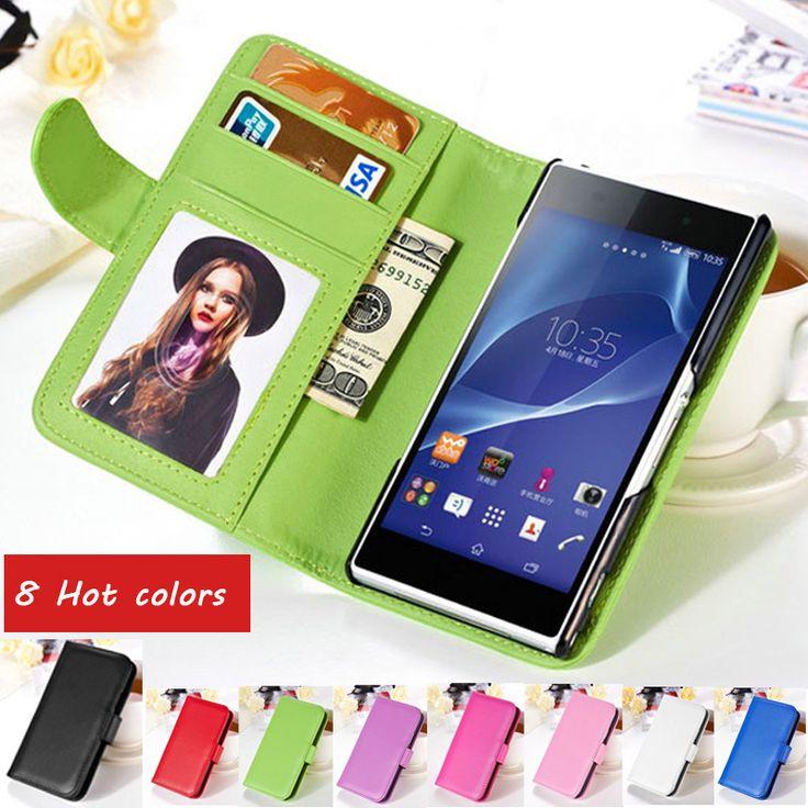 Cheap Para la caja de cuero de la carpeta Sony Xperia Z2 la cubierta del tirón magnético para D6503 Sony Xperia Z2 L50W con ranura para tarjeta de la foto del teléfono móvil del bolso, Compro Calidad Fundas y Bolsas para Móvil directamente de los surtidores de China: For Sony Xperia Z2 Rubber Matte Plastic Case UV Painting Anti Skid Hard Cover For Sony Xperia Z2 D6503 D6502 L50W Phone