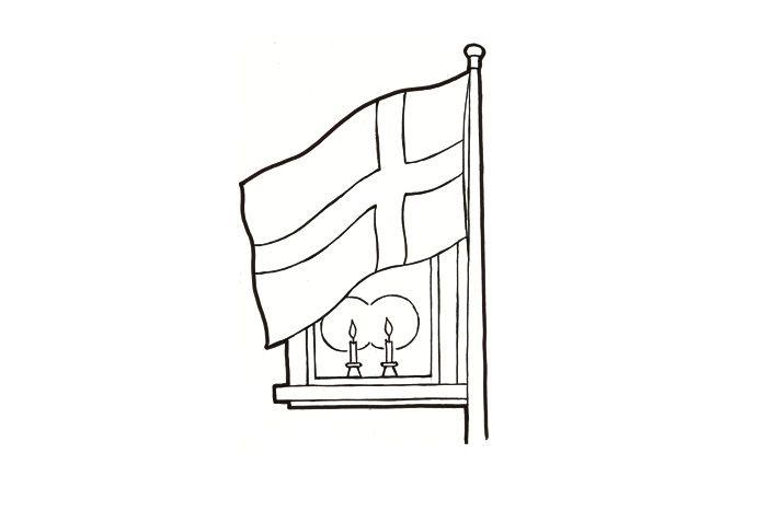 itsenäisyyspäivä askartelu suomen lippu - Google-haku