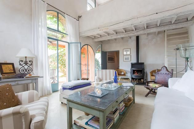 Rue Des Lauriers, Le Luberon, Provence, France - sitting room