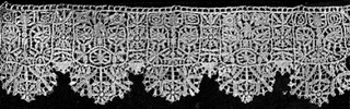 Needlepoint lace design 17th century by Design Decoration Craft, via Flickr