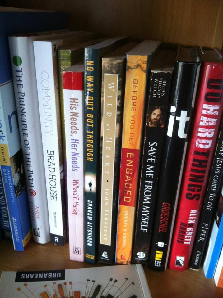 Always good to see in someone else's bookshelf - especially alongside #BrianHeadWelch and #JohnEldredge's books :)