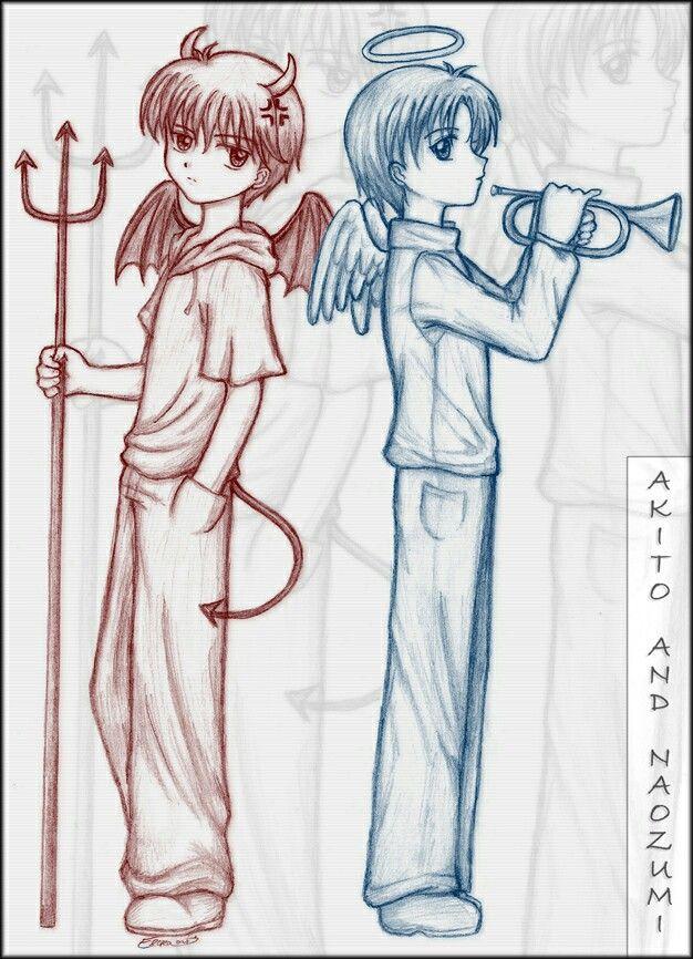 Akito and Naozumi Kodocha <<. Akito ftw!!!