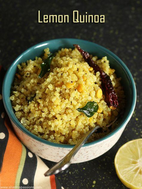 Lemon quinoa recipe, Indian style quinoa with lemon