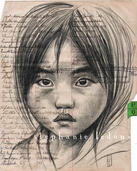 Stephanie Ledoux, carnettiste - Hmong - Vietnam