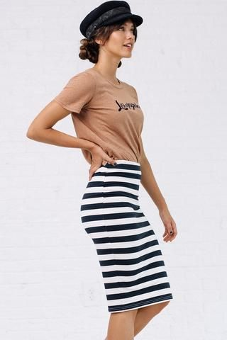 Let's Get Nautical Skirt