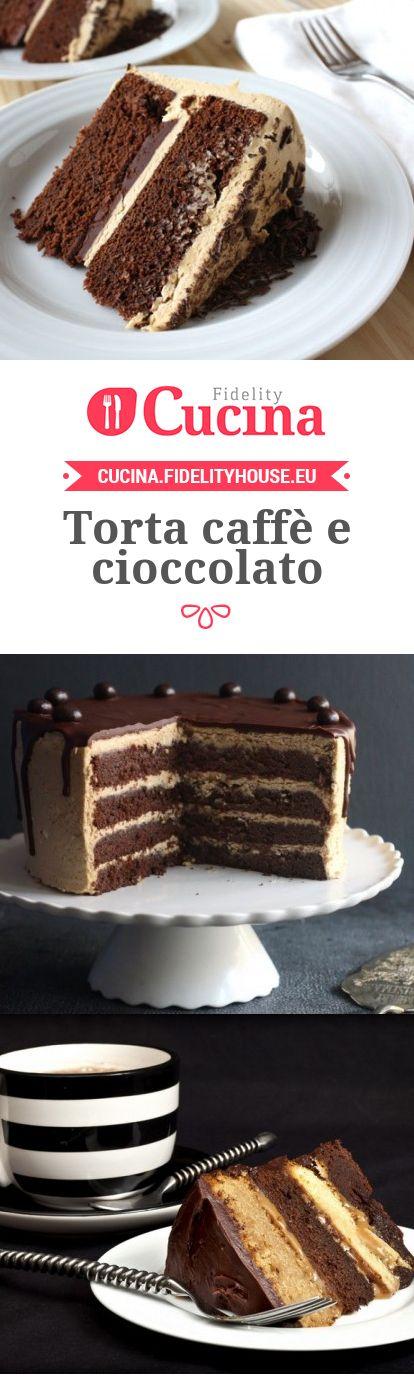 Torta caffè e cioccolato