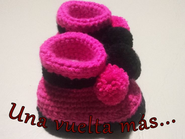 Pantuflas con suela de goma para niña :)