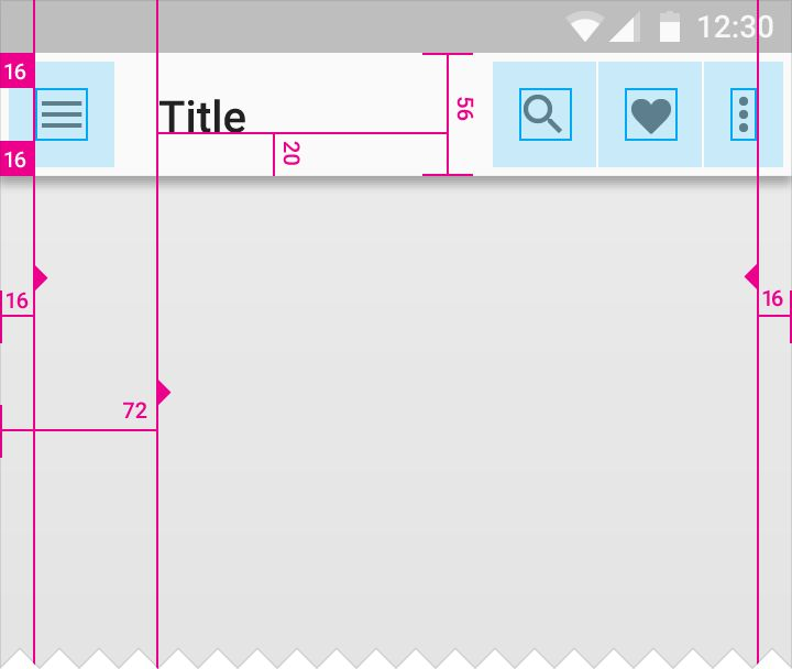 Structure - Layout - Material design guidelines
