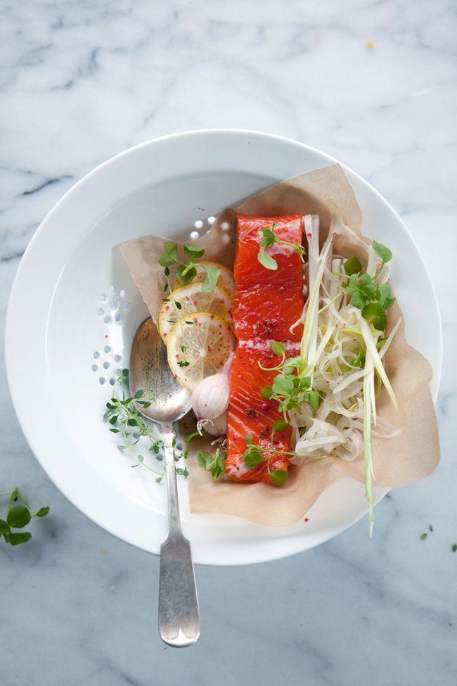 Wild salmon via Cannelle et Vanille