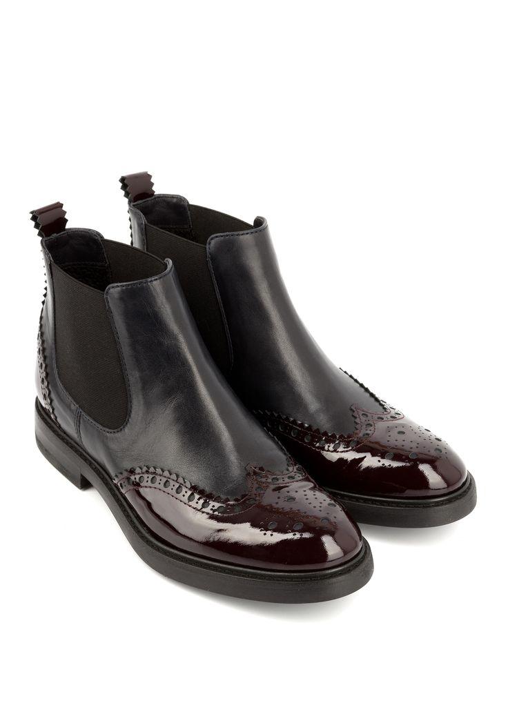 bottine tulipe bordeaux bottines plates chaussures. Black Bedroom Furniture Sets. Home Design Ideas