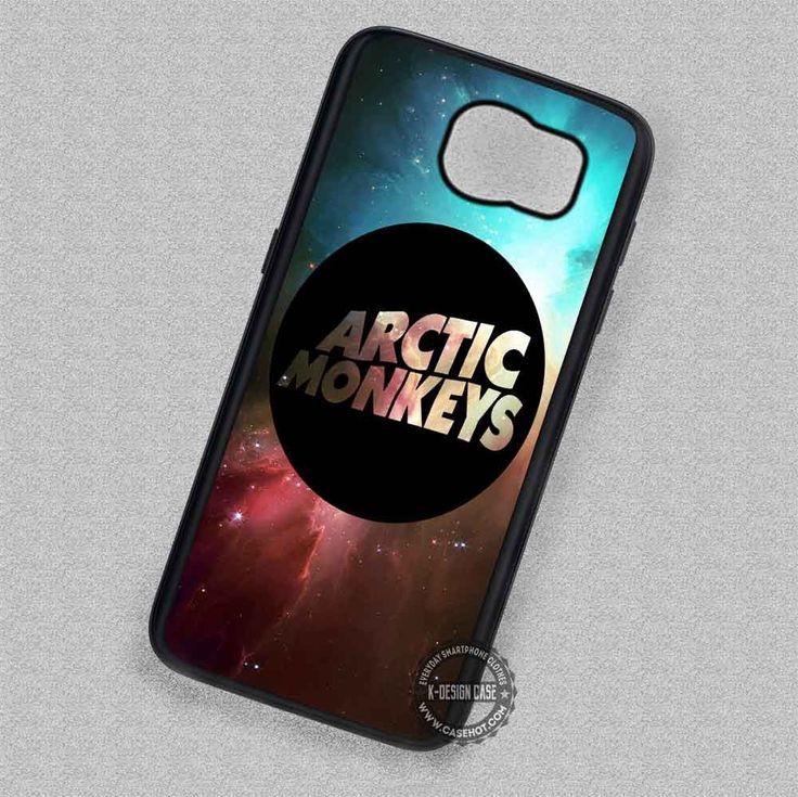 Nebula Black Band Arctic Monkeys Logo - Samsung Galaxy S7 S6 S5 Note 7 Cases & Covers