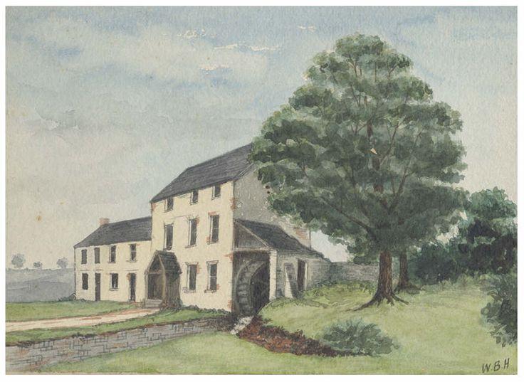 Roath Mill, Cardiff, by W. B. Hodkinson, 1878 (watercolour)