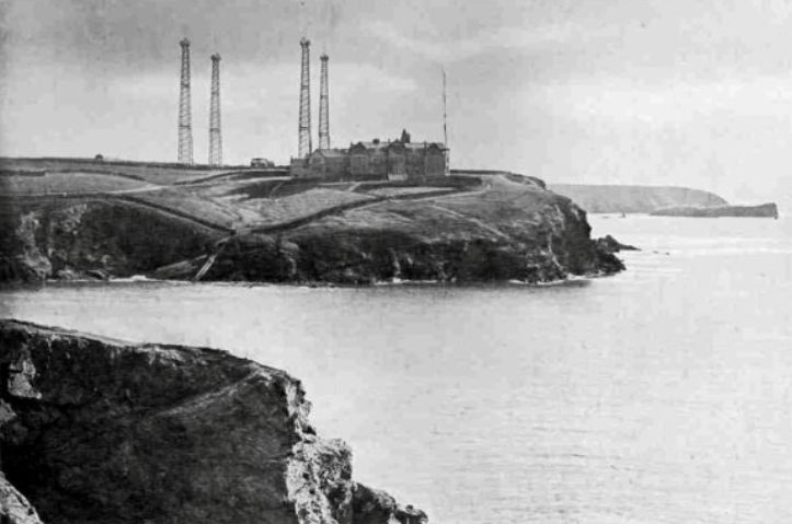 WORLD WAR I | Poldhu, Cornwall: Marconi's Wireless Station 'where the news of the declaration of Britain joining the Great War was first received on 4 August 1914.'     ✫ღ⊰n
