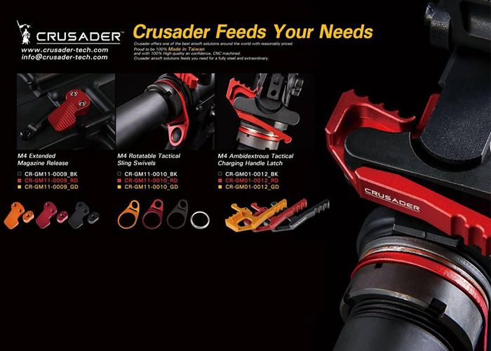 Crusader M4 Accessories at WGC Shop