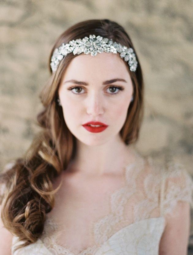 Cute for bridals  bridals  headband  diamonds  efe045c7398