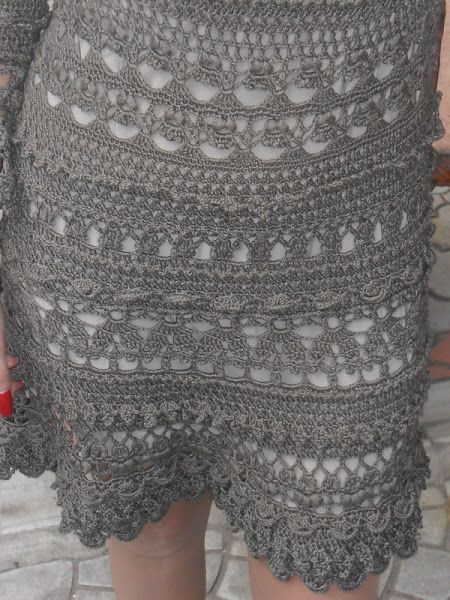 Wonderful crochet dresses and patterns for vanessa montoro