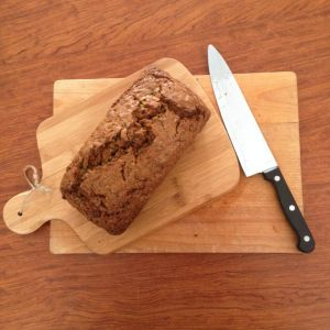 No-butter Zucchini Bread. Recipes posted on my blog www.basilandoil.com