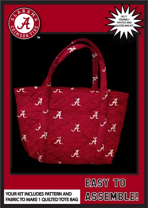 14 best college do it yourself kits tote bags aprons and more university of south carolina gamecock quilted tote bag kit solutioingenieria Gallery