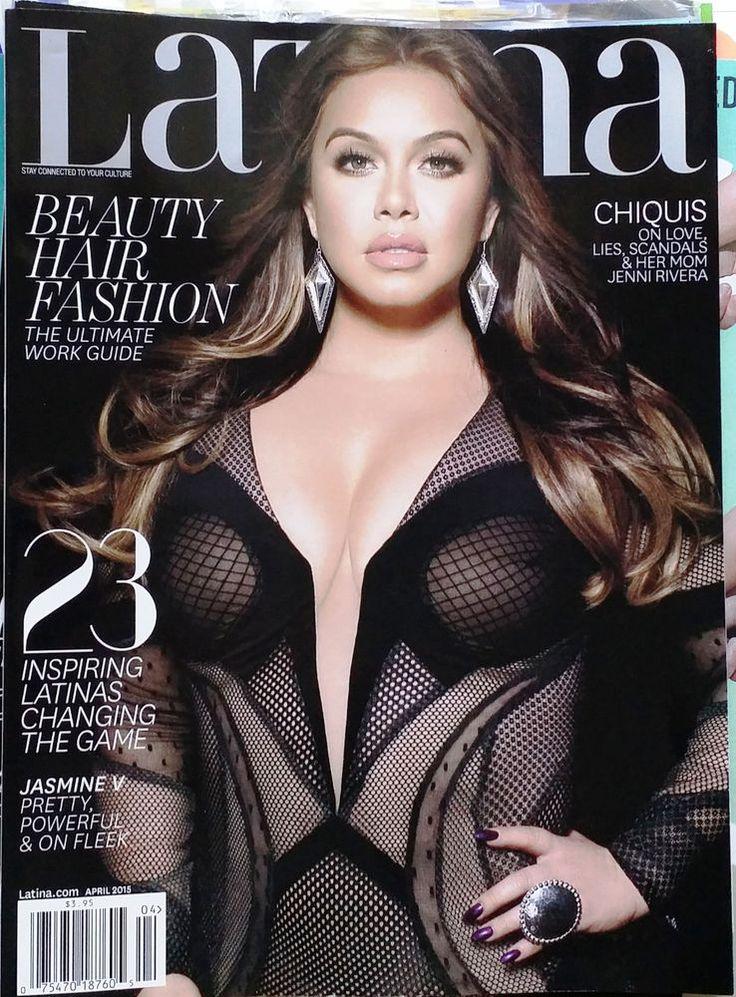 La Chiquis Rivera Latina Magazine April 2015 Fashion Celebrity Lifestyle English