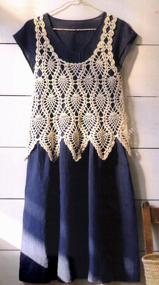 Free Crochet Pattern Lace Vest : Elegant Crochet Sweaters: Crochet Vest Pattern For Women ...