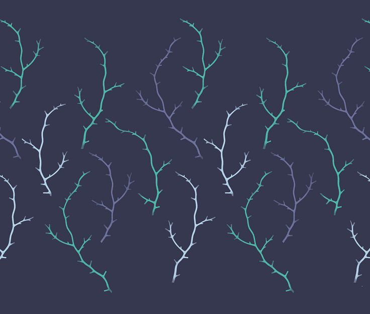 Winter Forest Seamless Patterns on Behance