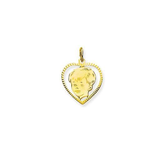 Gouden kinderkopje Gold | Juwelier Goudsmid Ooms