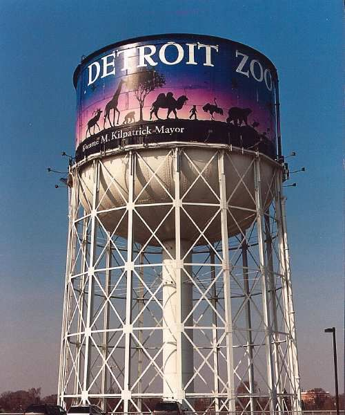 detroit water towers - Google Search