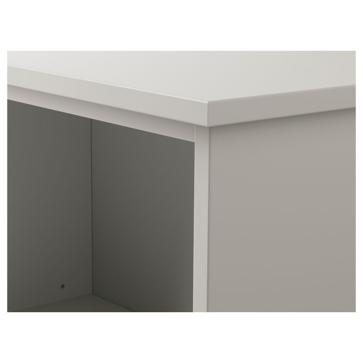 IKEA - KLIMPEN Table leg with storage gray light