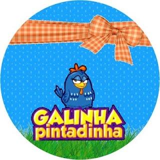 Fazendo a Minha Festa!: Imagens e Molduras da Galinha Pintadinha - Kit Completo