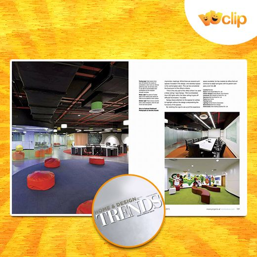 It's a proud moment for all of us! Our Vuclip Mumbai office got featured in Home & Design TRENDS magazine - https://www.facebook.com/vinnie.pai/posts/10153873920703474?pnref=story
