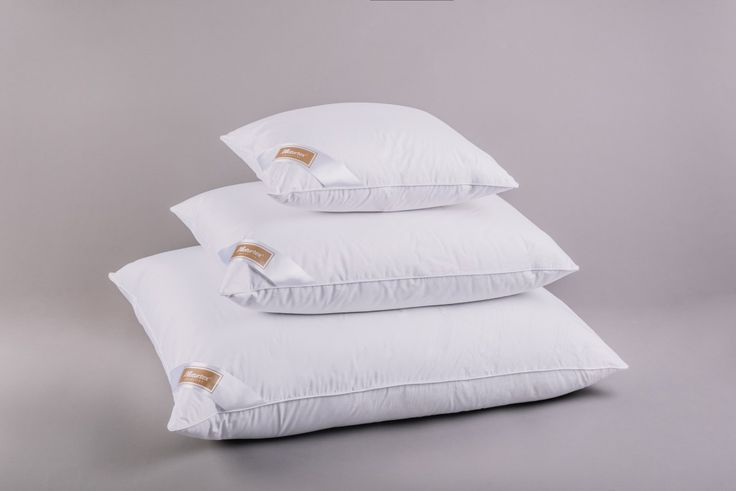 Naturtex Tulipan goose down pillows - set of 3 / Collection