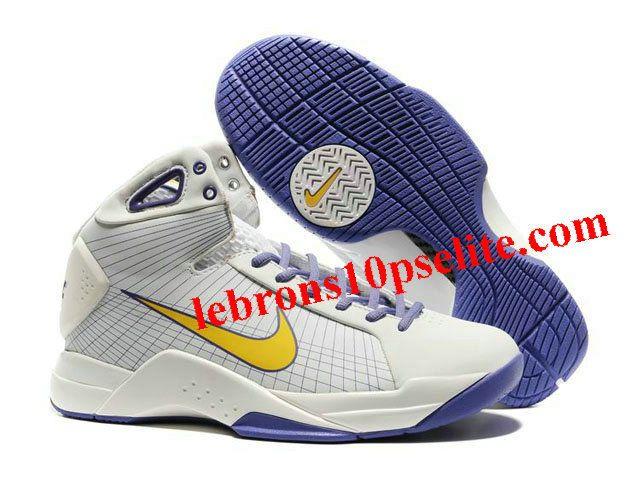Nike Kobe Olympic Edition IV White/Purple/Yellow
