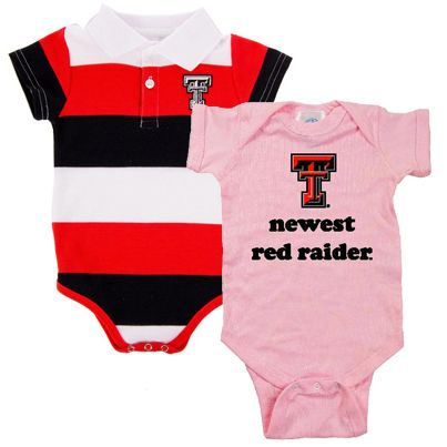 Do you know someone expecting a little Red Raiders fan soon? Our Texas Tech baby apparel and accessories make for the best gifts: http://www.rallyhouse.com/ncaa-texas-tech-red-raiders-baby?utm_source=pinterest&utm_medium=social&utm_campaign=Pinterest-TexasTechRedRaiders