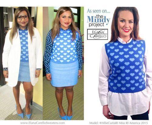 2b3e4c8e69fa The Mindy Project Bright Heart Vest in 2018