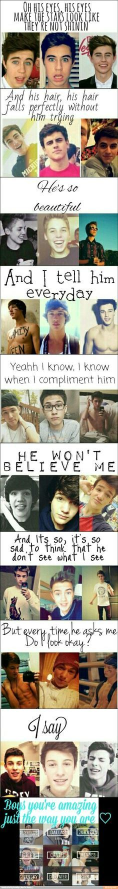 My magcon edit ~just the way you are~