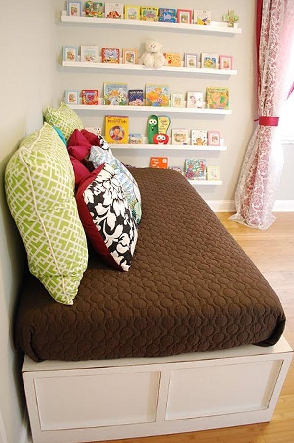 10 Cute Minimalist Bookshelves For Kids Rooms