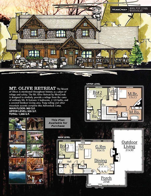 Moss creek mt olive house plans dream house pinterest for Moss creek home designs