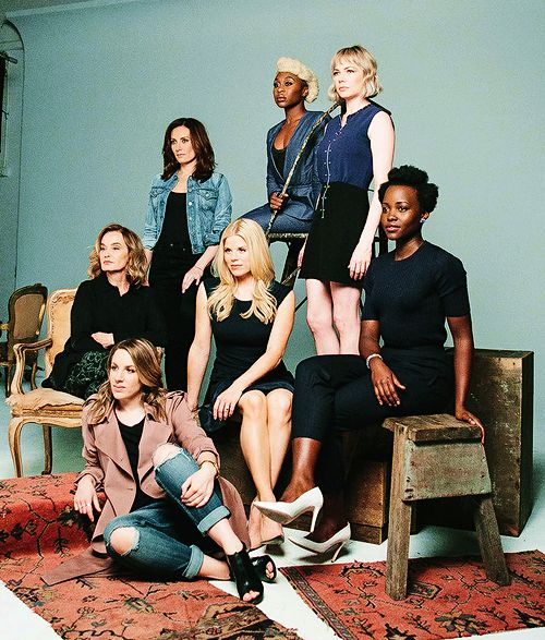 Tony Award nominees Jessica Lange, Laura Benanti, Megan Hilty, Cynthia Erivo, Jessie Mueller, Michelle Williams, and Lupita Nyong'o