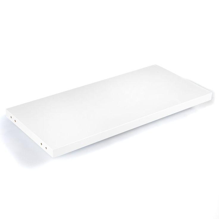 Étagère murale L 75 cm Blanc - Lorena - Les livings - Etagères et livings à composer - Tout pour le rangement - Décoration d'intérieur - Alinéa