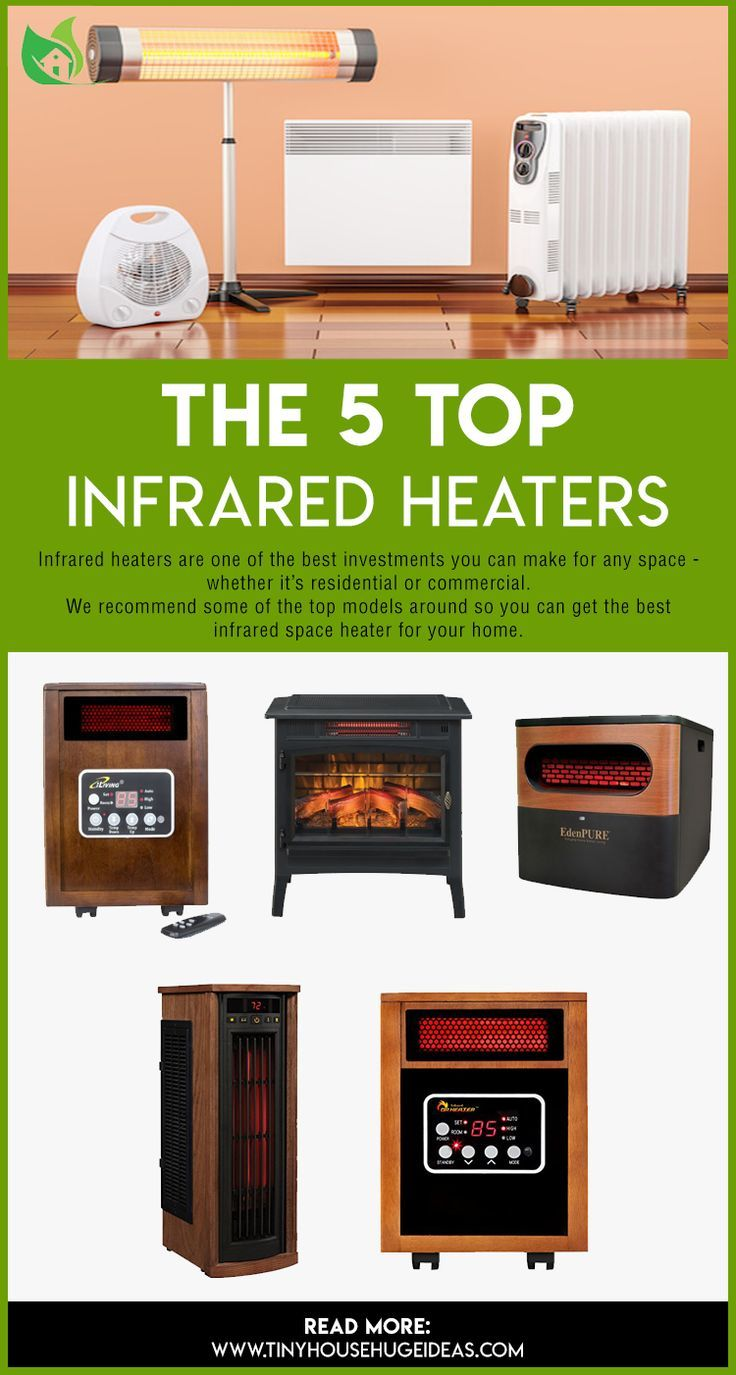 The 5 Top Infrared Heaters Reviews Top Recommendation