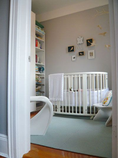 Baby's Room Ideas – Grey and Mint Green room (with a Cot Wrap!)