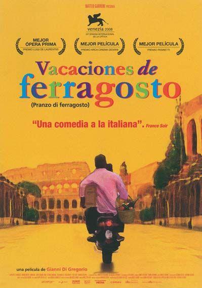 """Vacaciones de Ferragosto (2008) """"Pranzo di ferragosto"""" de Gianni Di Gregorio - tt1277728"""