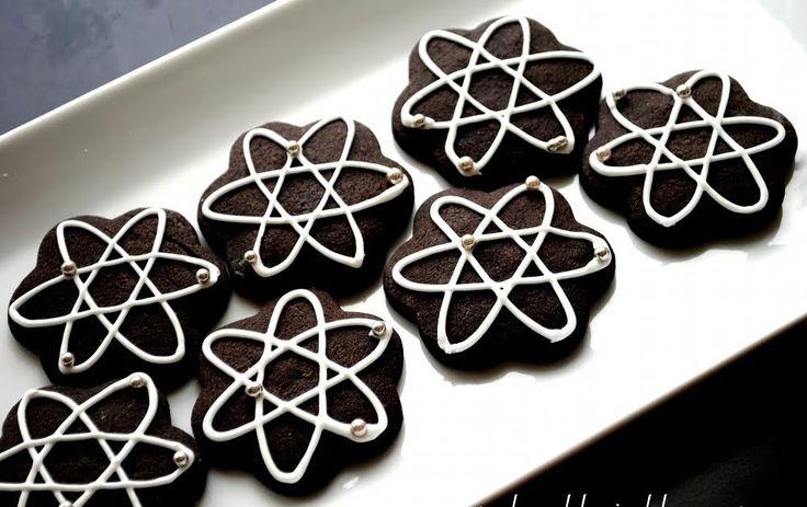 Not So Humble Pie: Science Cookies: Atom