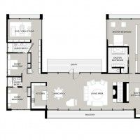 U Shaped Floor Plans 28 best u-shaped house images on pinterest | architecture, house