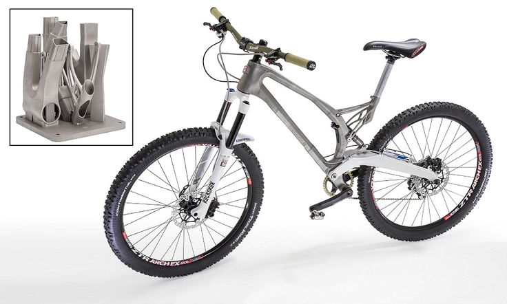♫ I want to ride my (3D printed) bicycle... Swansea University is testing a downloadable/printable titanium bike frame