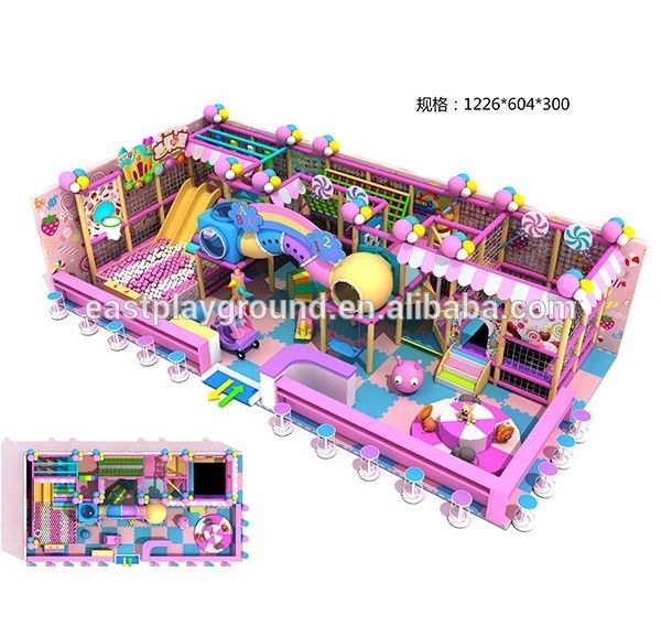 2015 china newest designing kids commercial indoor playground for sale