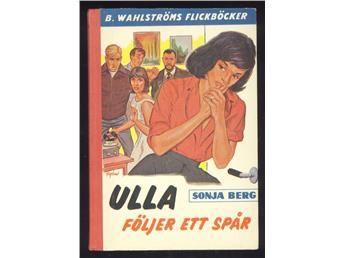 Berg, Sonja: Ulla följer ett spår.