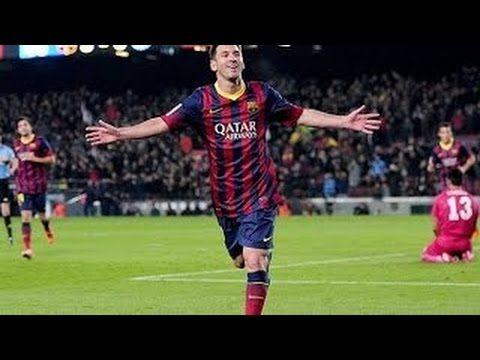FC Barcelona vs Elche 3:0 La Liga 2014  -  Lionel Messi Goal 1