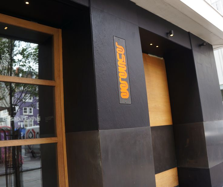 #Renovation of external #blackslate at #Busaba restaurant